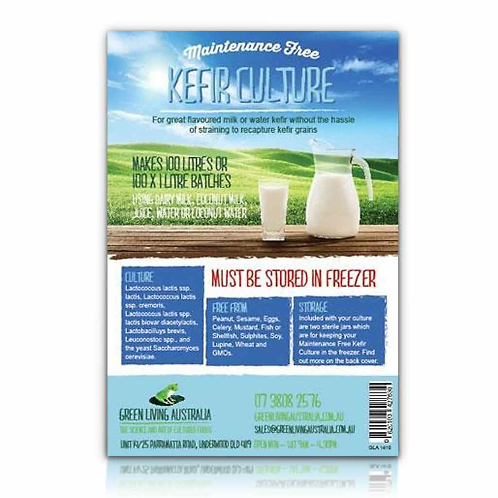 Culture, Kefir - for Dairy or Coconut Water *STORE FROZEN*